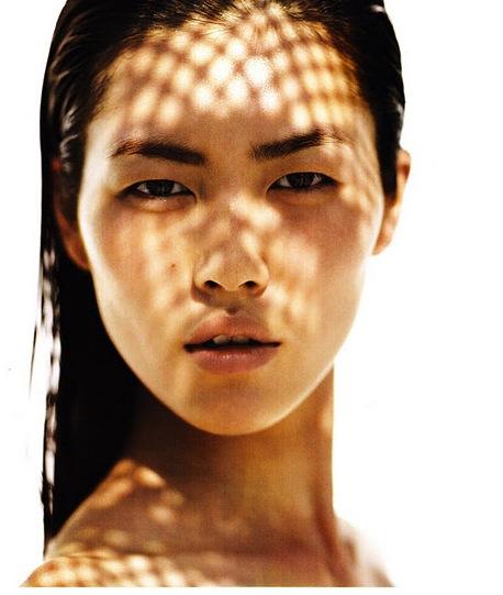 Vogue-China-June-2011-Liu-Wen-Sun-Bathing-Editorial