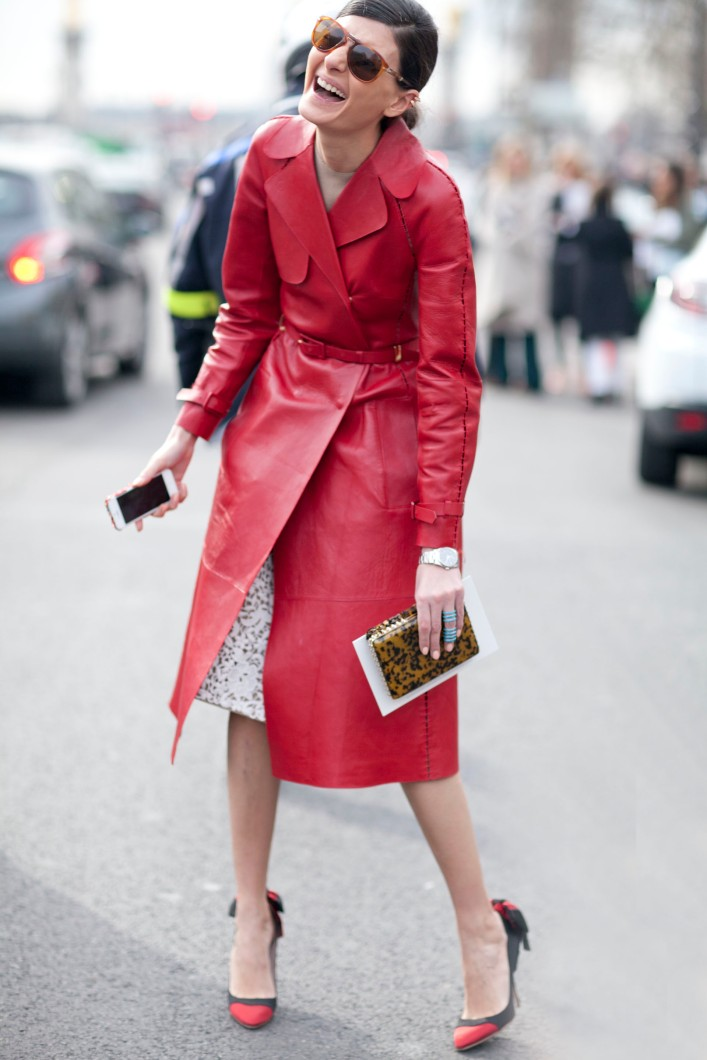 Giovanna-Battaglia-lit-up-street-style-scene-brilliant-red